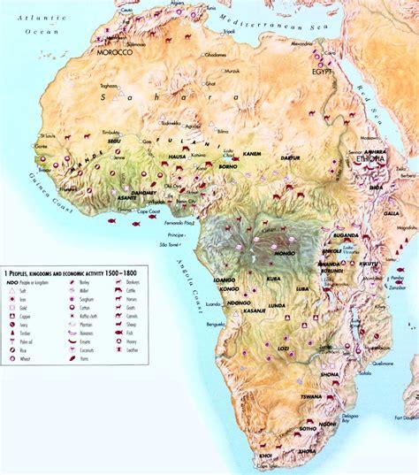 africa map 1500 africa economic activity 1500 1800 size