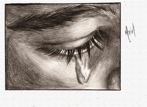 imagenes de ojos llorando a lapiz mis dibujos llorando