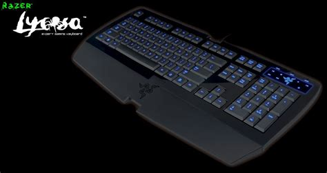 Keyboard Gaming Razer Lycosa razer lycosa keyboard mmorpg galleries