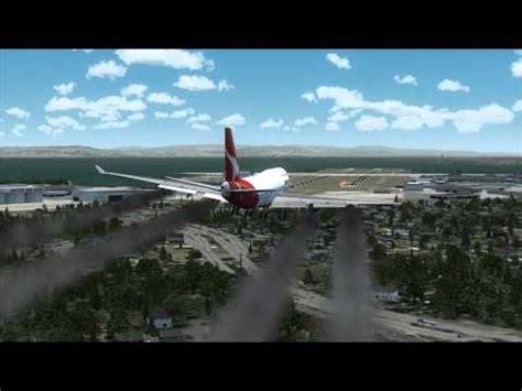 qantas 747 crash youtube