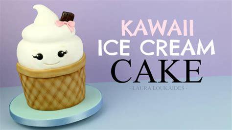 tutorial dance ice cream cake kawaii ice cream cake tutorial cakesdecor