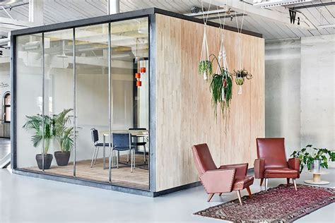 room in a box interior design inspiring office meeting rooms reveal their playful designs