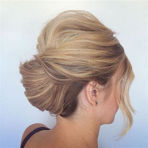most popular sleek classic french twist with side bangs 50 stylish french twist updos