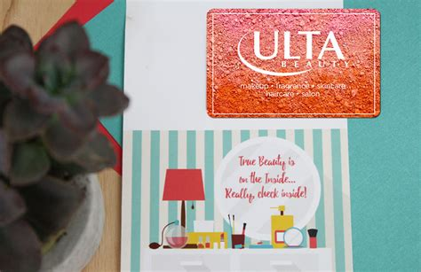 Ulta Beauty Gift Card - free printable beauty is on the inside really check inside gcg