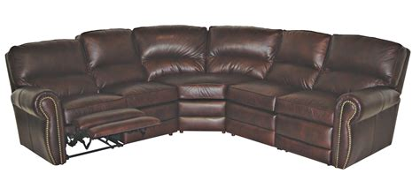 Leather Sectional Sofa Atlanta Reno Reclining Leather Sectional Leather Creations Furniture Custom Leather Furniture In