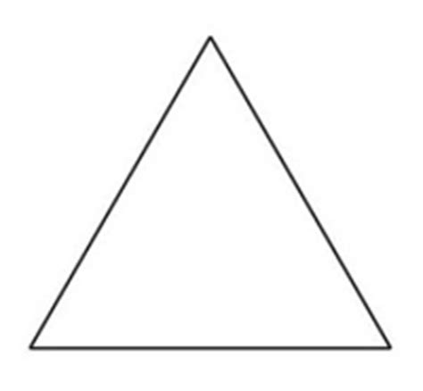triangle template object moved