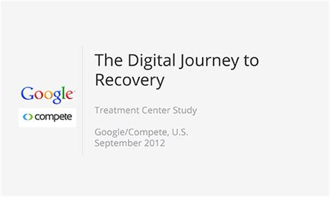 The Journey Detox Recovery Llc by The Digital Journey To Recovery From Compete