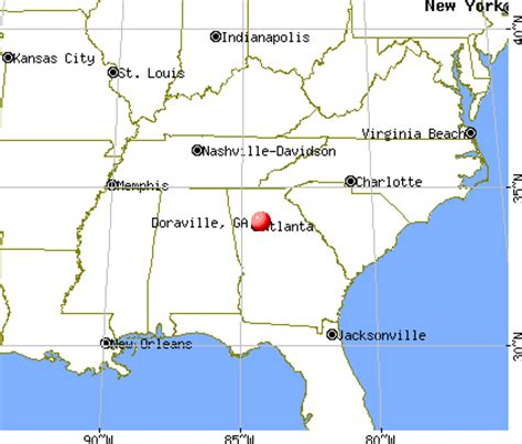 doraville map doraville ga 30340 30360 profile population