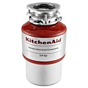 Kitchenaid 3 4 Hp Continuous Feed Garbage Disposal