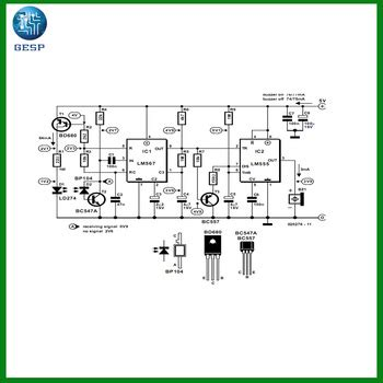 electrical generator avr circuit diagram schematic pcb