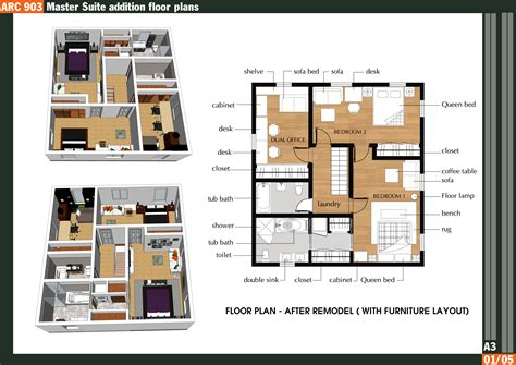 master bedroom suite floor plans additions arcbazar com viewdesignerproject projecthome makeover