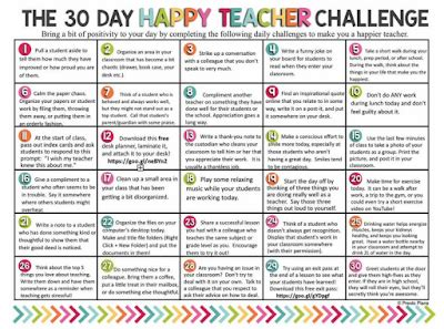 30 day positivity challenge eat play math the 30 day happy challenge from