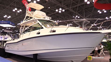 palmetto expo center boat show 2015 boston whaler 345 conquest fishing boat walkaround
