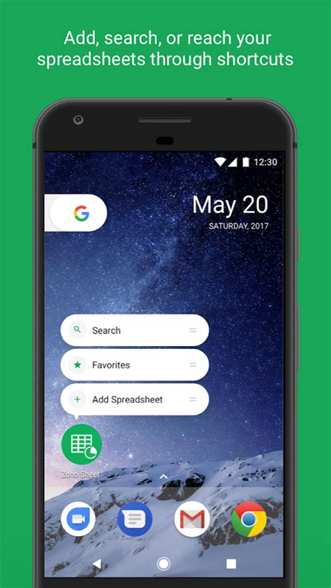 mobile zoho mobile spreadsheet zoho sheet android apps on play