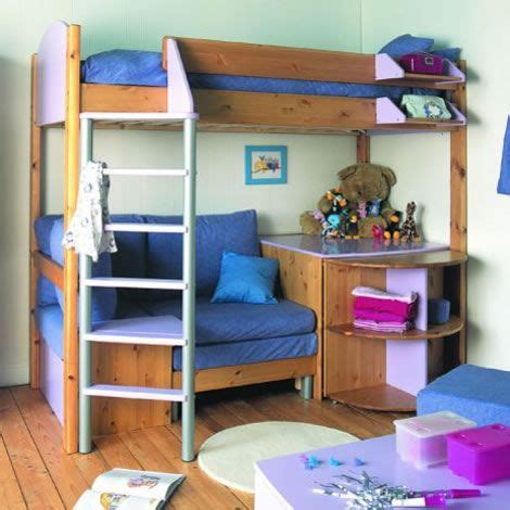 Bunk Bed With Sofa And Desk Bed And Bunkbed Bunk Bed With Sofa Bed And Desk Next Day Delivery Stompa Casa Bunk