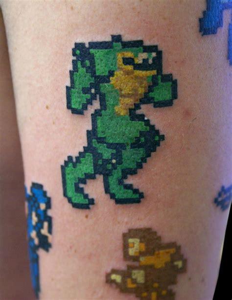 8 bit tattoo battletoads 8 bit battletoads