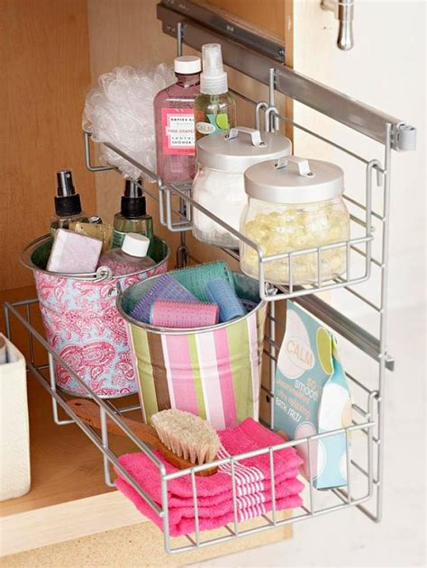 bathroom cabinet organizer ideas 17 clever storage ideas for every woman pretty designs