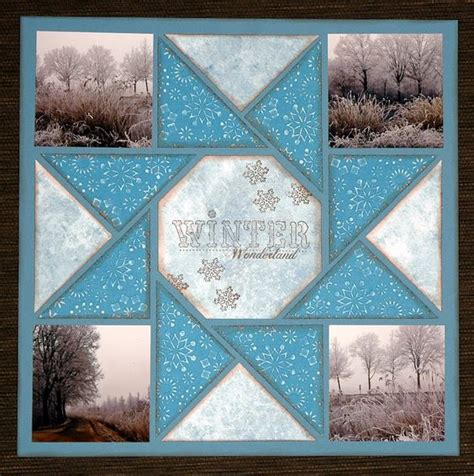 scrapbook quilt layout winter quilts layout and quilt on pinterest