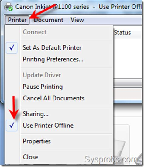 why is my printer offline how to make printer online in windows 7 from offline