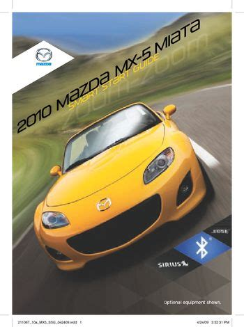 car service manuals pdf 2010 mazda mx 5 auto manual download 2010 mazda mx 5 smart start guide pdf manual 16 pages