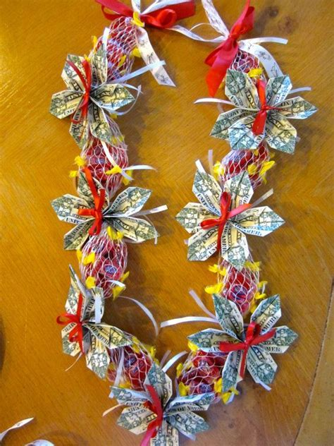 Beautiful Candy Money Lei for Graduation by PCbyMarilyn on