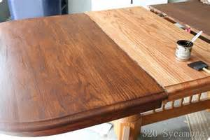 Staining A Kitchen Table How To Sand And Refinish Wood Furniture Newhairstylesformen2014