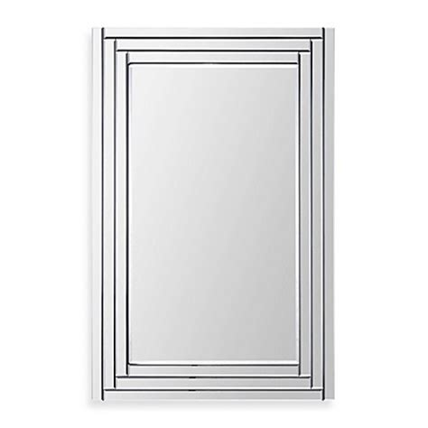 bed bath and beyond bathroom mirrors buy edessa mirror from bed bath beyond