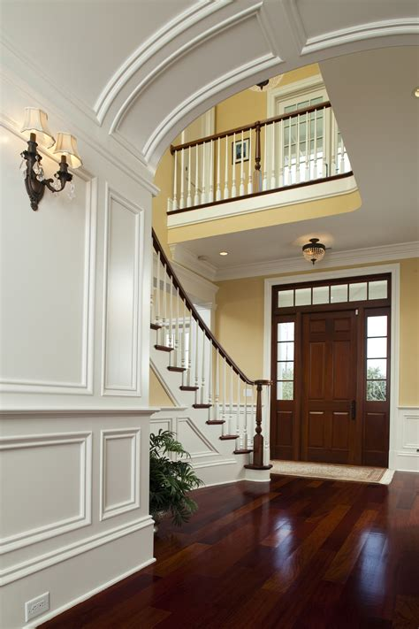 Entry Stairs Design Foyer Stairs Molding Moldings