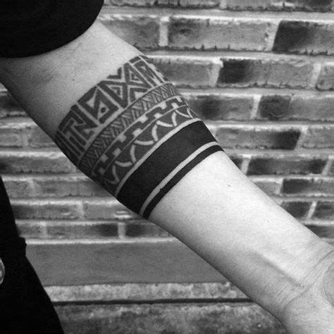 solid band tattoo meaning 70 armband designs for masculine ink ideas