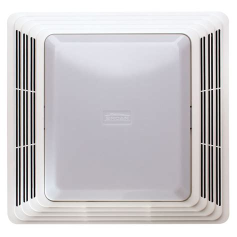 Broan Bathroom Fan Light Cover Broan 70 Cfm Bathroom Exhaust Fan With Light Reviews Wayfair