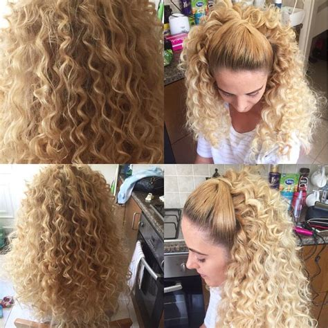 Hair Styler Tools Curls by We Had A Go At Trying Out A Chopstick Wand Great Curly