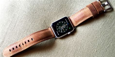 Original Nomad Tali Apple 1 2 3 Brown Leather Modern 42mm nomad leather apple review