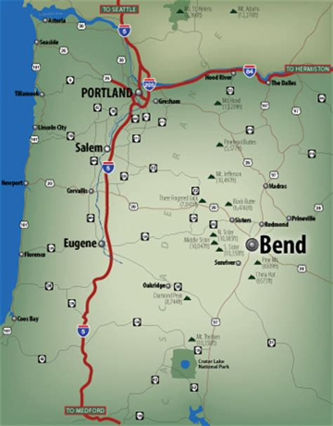 map of bend oregon pictures to pin on pinterest pinsdaddy