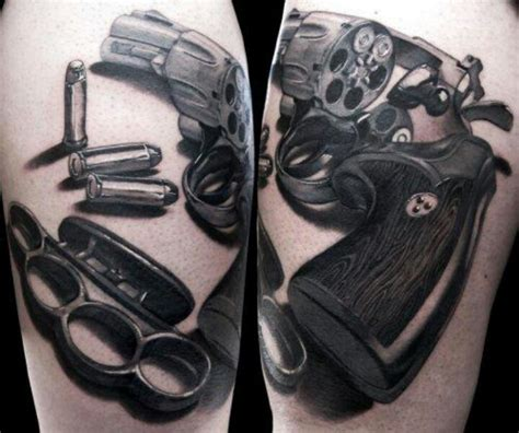 tattoo pictures guns 64 weapons tattoos ideas