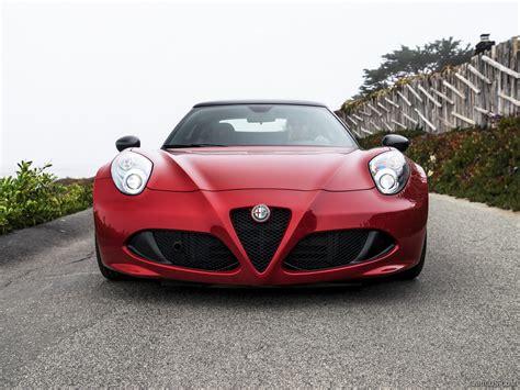Alfa Romeo 168 2015 Alfa Romeo 4c Spider Us Spec Front Wallpaper