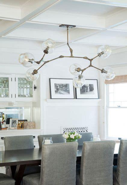 funky chandelier  lindsey adelman craftsman dining