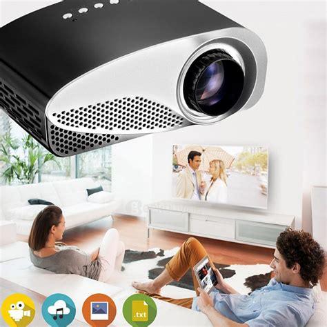 Proyektor Gp8s gp8s emp 480 x 320 300lm mini lcd projector