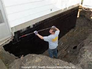 waterproofing basement wall arbor basement waterproofing staydry 174 michigan