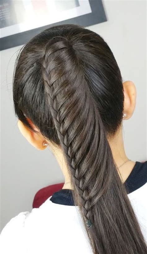 como hacer trenzas cascada paso a paso peinados faciles de hacer paso a paso para pelo largo