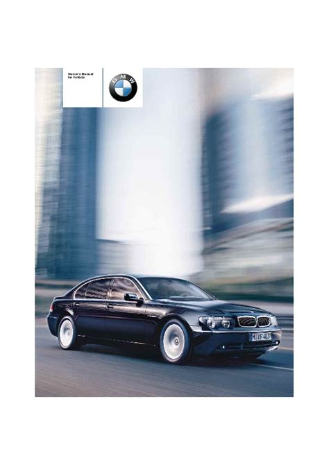 old car owners manuals 2004 bmw 760 electronic valve timing 2004 bmw 7 series 745i 745li 760li e65 e66 e67 e68 owners manual
