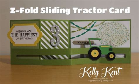 pop up tractor card template 1000 images about z fold cards on cascading