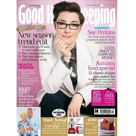goodhousekeeping com sue perkins is good housekeeping s october cover star