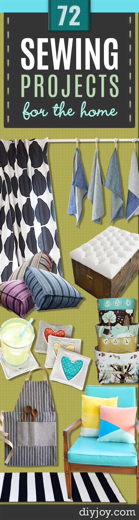 diy decorations sewing 72 crafty sewing projects for the home