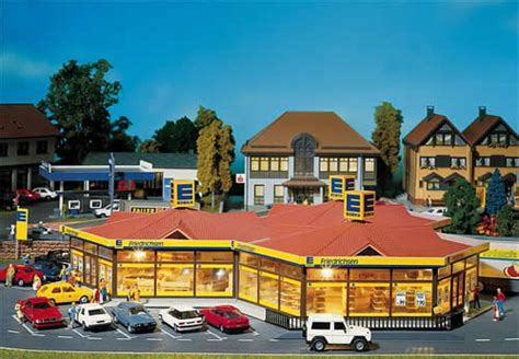 Faller Countrysite Decor Acceessories Miniature Building Ho Scale faller 130342 edeka local mini market