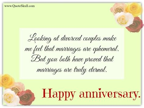 Wedding Anniversary Quote To Parents by Happy Anniversary Quotes For Parents Happy Anniversary