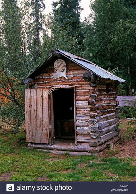 Cabin Websites Usa Alaska Anvik River Lodge Log Outhouse By Trapper