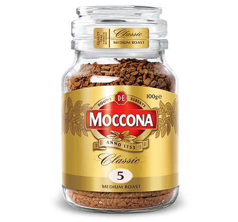 Range Coffee Bean classic medium roast products moccona coffee