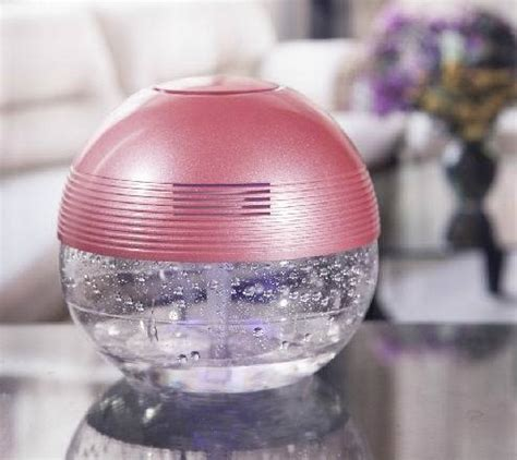 water negative ion air purifier home formaldehyde removal secondhand smoke air freshener