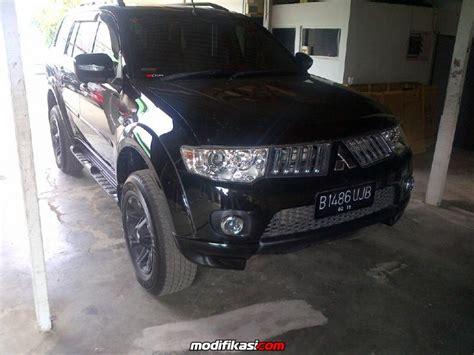 Pajero Sport Eksklusif Peredam Hitam Kap Mesin 1 pajero sport2010 tipe exceed hitam matic km 20 rb orisinil ralliart bodykit