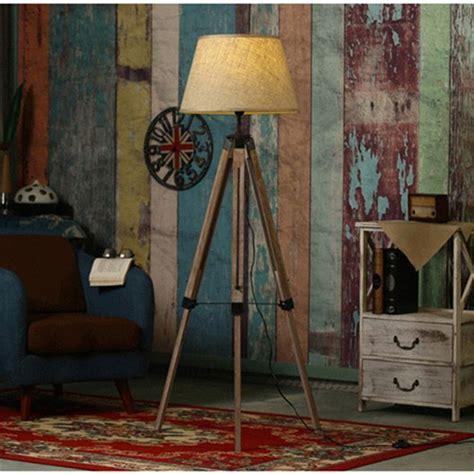 living room light stand aliexpress buy rustic wooden tripod floor l